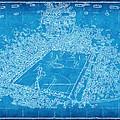 Miami Heat Arena Blueprint by Joe Myeress