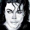 Michael Jackson Portrait by Alban Dizdari