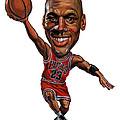 Michael Jordan by Art
