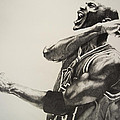 Michael Jordan Print by Jake Stapleton