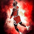 Michael Jordan by NIcholas Grunas Cassidy