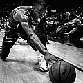 Michael Jordan Reaches For The Ball by Retro Images Archive