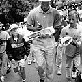 Michael Jordan Signing Autographs by Retro Images Archive