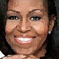 Michelle Obama by Samuel Majcen