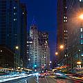 Michigan Avenue Chicago Print by Steve Gadomski