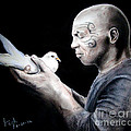 Mike Tyson and Pigeon