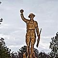 Military Soldier Memorial by Ms Judi