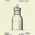 Milk Jar 1890 Patent Art by Prior Art Design