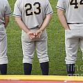 Minor League Baseball Players by Jim West