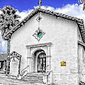 Mission San Rafael Arcangel by Ken Evans