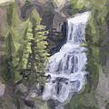 Misty Falls by Jo-Anne Gazo-McKim