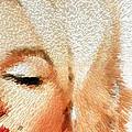Modern Marilyn - Marilyn Monroe Art By Sharon Cummings by Sharon Cummings
