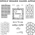 Monopoly Board Game Patent Art  1935 by Daniel Hagerman
