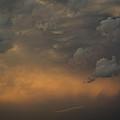 Moody Storm Sky Over Lake Ontario In Toronto by Georgia Mizuleva