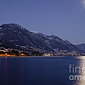 Moonlight Over A Lake by Mats Silvan