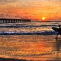Morning Surf by Debra and Dave Vanderlaan