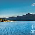Morning View Of Cascade Reservoir  by Robert Bales