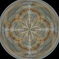 Morphed Art Globes 25 by Rhonda Barrett