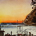 Morro Bay - California Sketchbook Project by Irina Sztukowski
