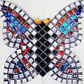 Mosaic Butterfly by Lisa Brandel