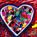 Mosaic Heart by Genevieve Esson