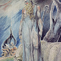 Moses And The Burning Bush by William Blake