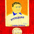 Most Expensive Baseball Card Honus Wagner T206 2 by Richard W Linford