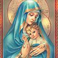 Mother Of God by Zorina Baldescu