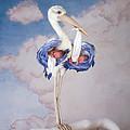 Mother Stork by Anne Geddes