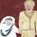 Mother Teresa And Princess Diana In Heaven 3 by Richard W Linford