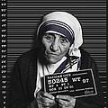 Mother Teresa Mug Shot by Tony Rubino