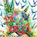 Motor Demon With Bats by Fabrizio Cassetta