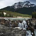 Athabasca waterfall ...