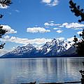 Mountain Reflection On Jenny Lake by Dan Sproul