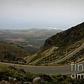 Mountain Road Crete Print by Lainie Wrightson