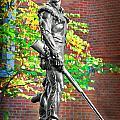 Mountaineer Statue by Dan Friend