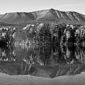 Mt Katahdin Black And White by Glenn Gordon
