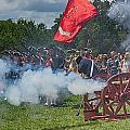 Mt Vernon Cannon Fire 4th Of July by Jack Nevitt