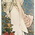 Mucha, Alphonse Maria 1860-1939 by Everett