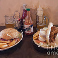 Muffaletta And Po-boy by Kay Pickens