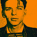 Mugshot Frank Sinatra v1 Print by Wingsdomain Art and Photography