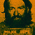 Mugshot Willie Nelson p0 Print by Wingsdomain Art and Photography
