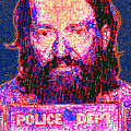 Mugshot Willie Nelson Painterly 20130328 by Wingsdomain Art and Photography