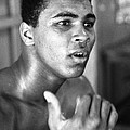 Muhammad Ali Intently by Retro Images Archive