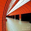 Munich Subway I by Hannes Cmarits