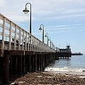 Municipal Wharf At The Santa Cruz Beach Boardwalk California 5d23768 by Wingsdomain Art and Photography