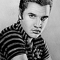 Music Legends Elvis by Andrew Read