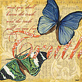 Musical Butterflies 3 by Debbie DeWitt