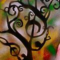 Musical Tree Golden by Tony B Conscious