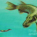 Muskie And The Lure by Jeanne Fischer